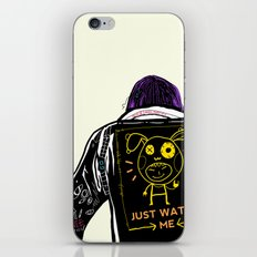 Just watch me iPhone & iPod Skin