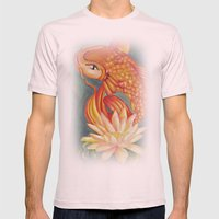 Koi Mens Fitted Tee Light Pink SMALL