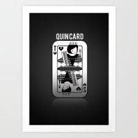 Tegan and Sara Quincard Art Print