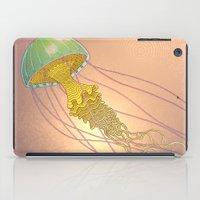 jellyfish-red iPad Case