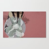 Lady Lost Canvas Print