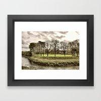 Pilton Park  Framed Art Print