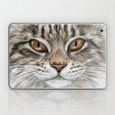 Young Tabby Cat Laptop & iPad Skin