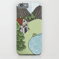 Cabin In The Mountains iPhone 6 Slim Case