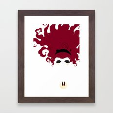 The Imaginary Friend Framed Art Print