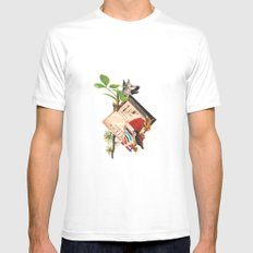 Etro White Mens Fitted Tee SMALL