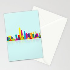 New WTC Skyline Stationery Cards
