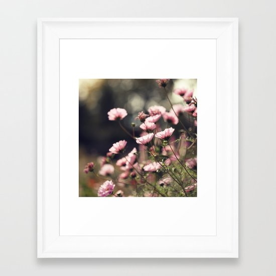 Wondering Framed Art Print