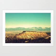 Main Hill, Los Alamos NM Art Print