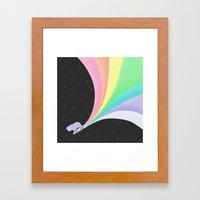 Capybara:  IN SPACE! Framed Art Print