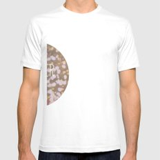 Summer brings the flowers White Mens Fitted Tee SMALL