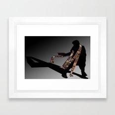 4th Doctor... Framed Art Print