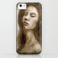 iPhone 5c Cases featuring Lady Day by teddynash
