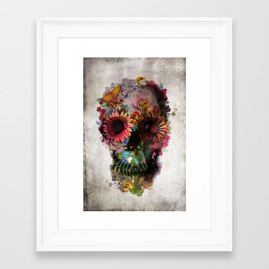 SKULL 2 Framed Art Print