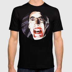 The Horror of Dracula Mens Fitted Tee SMALL Black