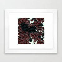 FISH PARADISE v6 Framed Art Print