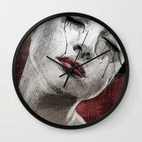 Venom And Tears Wall Clock