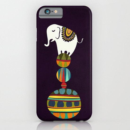 Elephant Circus iPhone & iPod Case