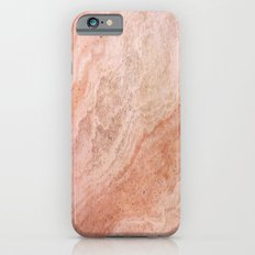 Polished Rose Gold Marble Slim Case iPhone 6s