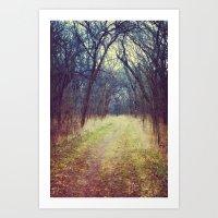 The Woods Are Lovely, Da… Art Print