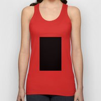 Black #8 (Licorice)  Unisex Tank Top