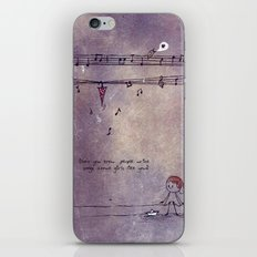 Unposted Letter -2 iPhone & iPod Skin