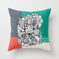 Orden inverso Throw Pillow