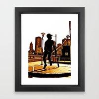 Roberto's Shadow Lives I… Framed Art Print