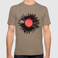 The Vinyl Of My Life Mens Fitted Tee Tri-Coffee LARGE
