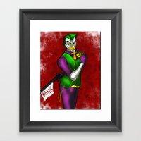 Joker - Joke's on You - 2012 Framed Art Print