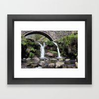 Three Shires Head Waterf… Framed Art Print