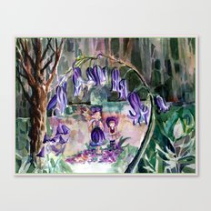 Blue Bell Forest Canvas Print