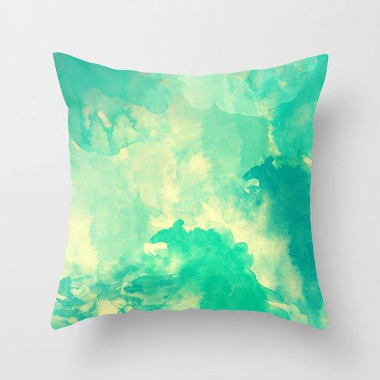 Underwater Throw Pillow