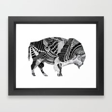 BISONTE Framed Art Print