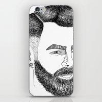 Haircut 60's iPhone & iPod Skin