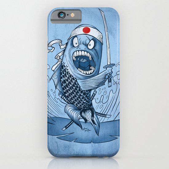 Samurai sushi iPhone & iPod Case