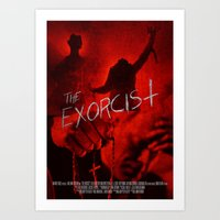The Exorcist - Poster Fo… Art Print