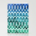 Triangle Tribal Stationery Cards