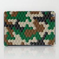 Cubouflage iPad Case