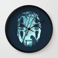 Lonely Spirit Wall Clock