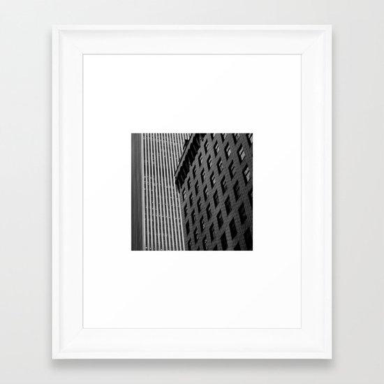 NY.Skyscraper III Framed Art Print