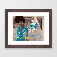 Poster for Adam Framed Art Print
