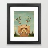 Bastet, Cat Deity - Patr… Framed Art Print