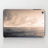 calm day ver.warmblack iPad Case
