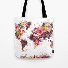 World Map 2033 Tote Bag