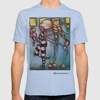 Non-robotic Mens Fitted Tee Athletic Blue SMALL