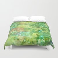 Greenwoods Abstract Duvet Cover