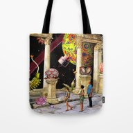 Tote Bag featuring Minute Two by Eugenia Loli