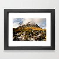 Buachaille Etive Mor Framed Art Print