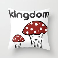 The 10th Kingdom: The Mushrooms Throw Pillow